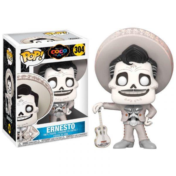 Figura POP Disney Pixar Coco Ernesto