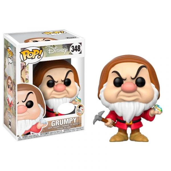 Figura POP Disney Snow White Grumpy with Diamond Pick Exclusive