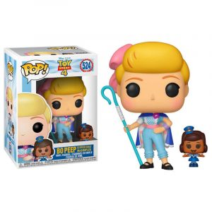 Funko Pop! Bo Peep con Oficial McDimples (Toy Story 4)