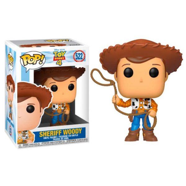 Figura POP Disney Toy Story 4 Woody