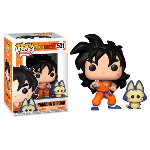 Figura POP Dragon Ball Z Yamcha & Puar Serie 5
