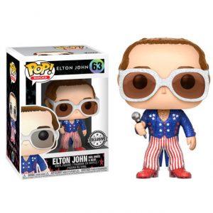 Funko Pop! Elton John Glitter Exclusivo