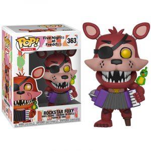 Funko Pop! Five Nights al Freddys 6 Pizza Sim Rockstar Foxy