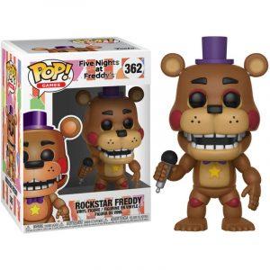 Funko Pop! Five Nights al Freddys 6 Pizza Sim Rockstar Freddy