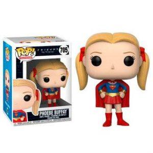 Funko Pop! Phoebe Buffay (Superchica) [Friends]