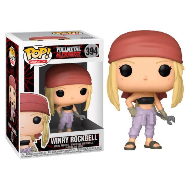 Figura POP Fullmetal Alchemist Winry