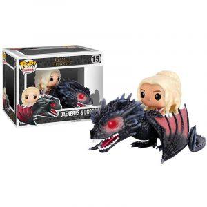Funko Pop! Daenerys & Drogon (Juego de Tronos)