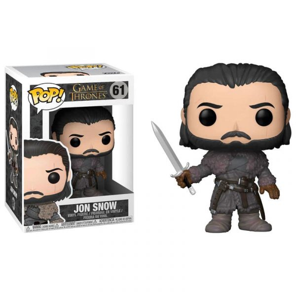 Figura POP Game of Thrones Jon Snow Beyond the Wall