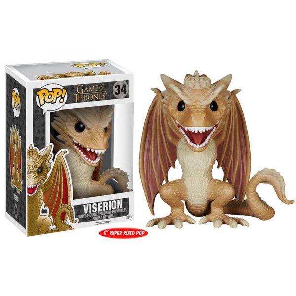 Figura POP Game of Thrones Viserion 15cm