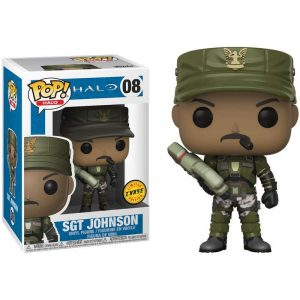 Funko Pop! Sgt. Johnson Chase [Halo]