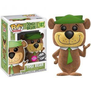 Funko Pop! Hanna Barbera Yogi Bear Flocked Exclusivo