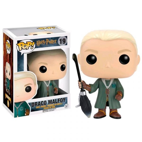 Figura POP Harry Potter Draco Malfoy Quidditch Exclusive