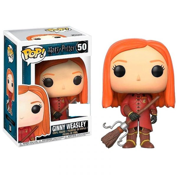 Figura POP Harry Potter Ginny Quidditch Robes Exclusive
