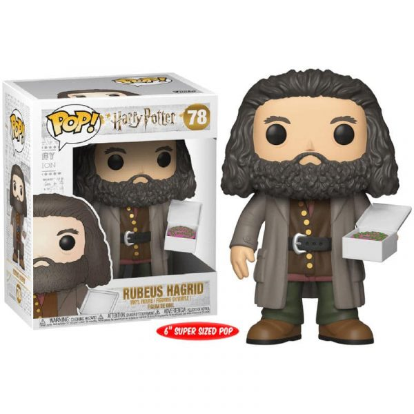 Figura POP Harry Potter Hagrid with cake 15cm