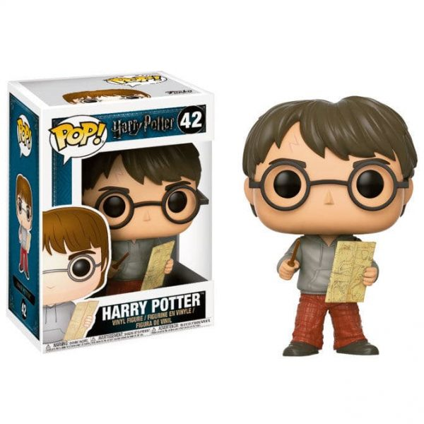 Figura POP Harry Potter Harry with Marauders Map
