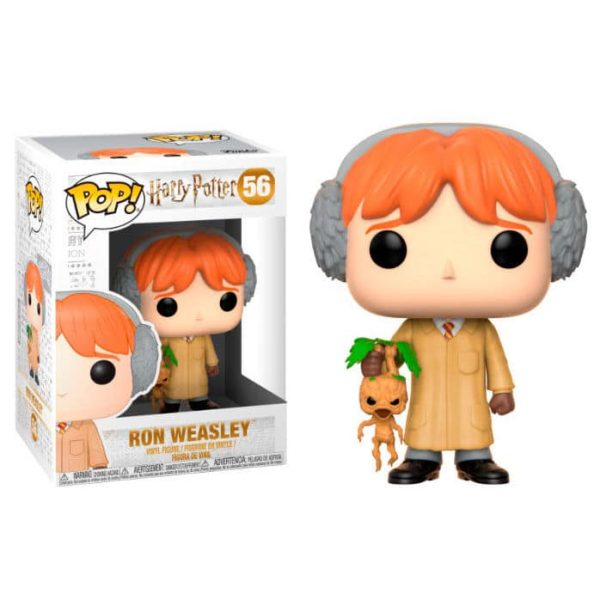 Figura POP Harry Potter Ron Herbology