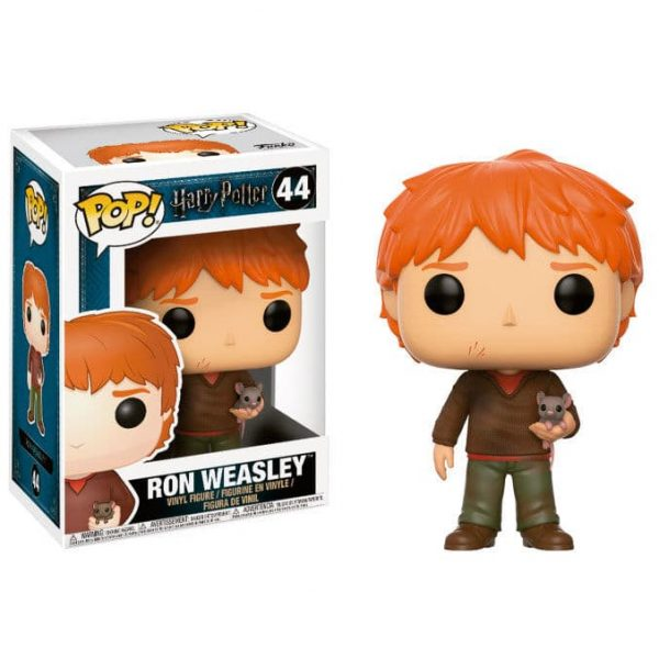 Figura POP Harry Potter Ron Weasley with Scabbers