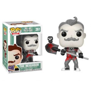 Funko Pop! Hello Neighbor Black & White Blood Exclusivo