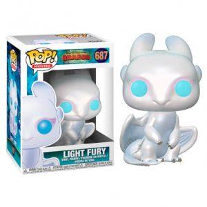 Funko Pop! Light Fury [Cómo Entrenar A Tu Dragón]