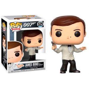 Funko Pop! James Bond Roger Moore White Tux Exclusivo