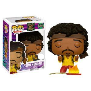 Funko Pop! Jimi Hendrix Monterey Guitar on Fire Exclusivo
