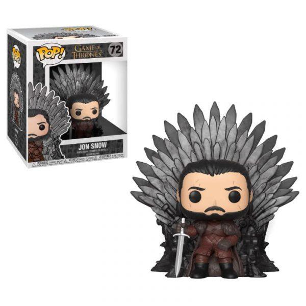 Figura POP Juego de Tronos Jon Snow Sitting on Throne
