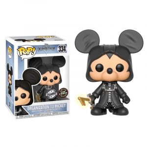 Funko Pop! Organization 13 Mickey [Kingdom Hearts] Exclusivo GITD Chase