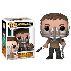 Funko Pop! Mad Max Fury Road Max with Cage Mask Exclusivo