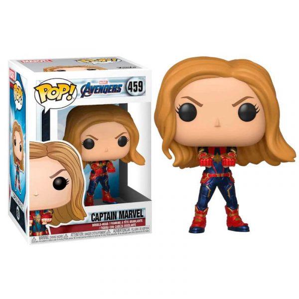 Figura POP Marvel Avengers Endgame Captain Marvel