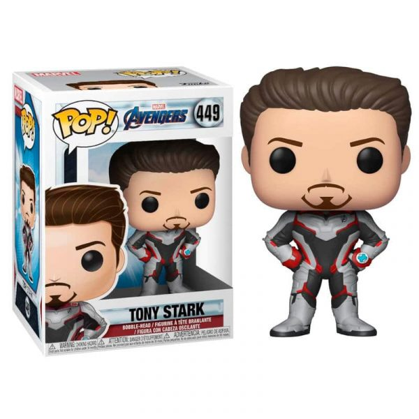 Figura POP Marvel Avengers Endgame Tony Stark