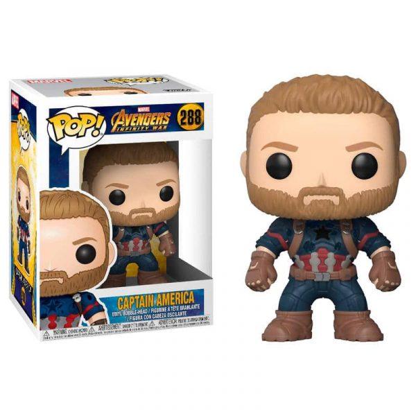 Figura POP Marvel Avengers Infinity War Captain America