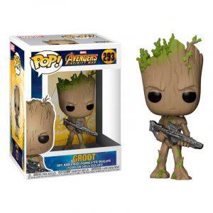 Funko Pop! Groot (Con arma) (Avengers: Infinity War)