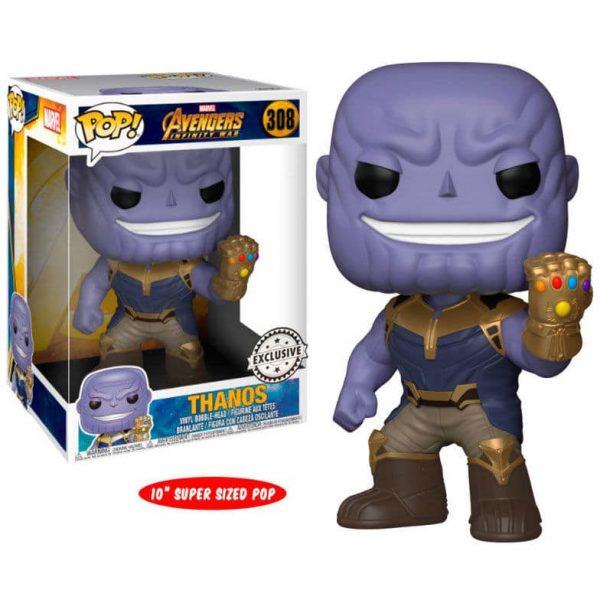 Figura POP Marvel Avengers Infinity War Thanos Exclusive 25cm