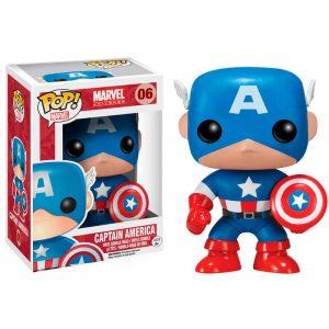 Funko Pop! Capitán América [Marvel]
