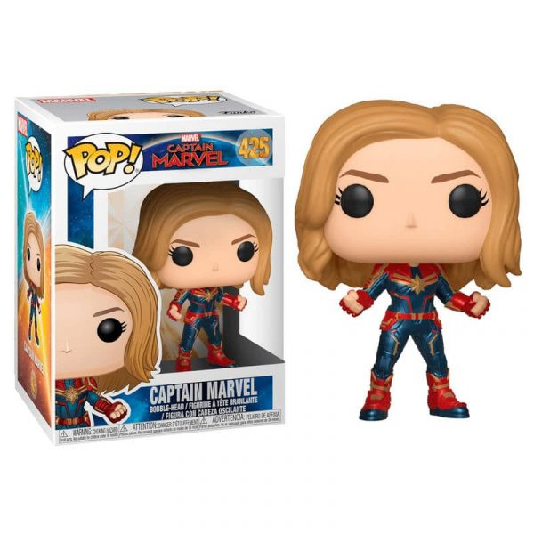 Figura POP Marvel Capitana Marvel