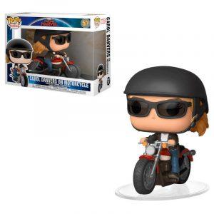 Funko Pop! Carol Danvers (En Motocicleta) [Capitana Marvel]