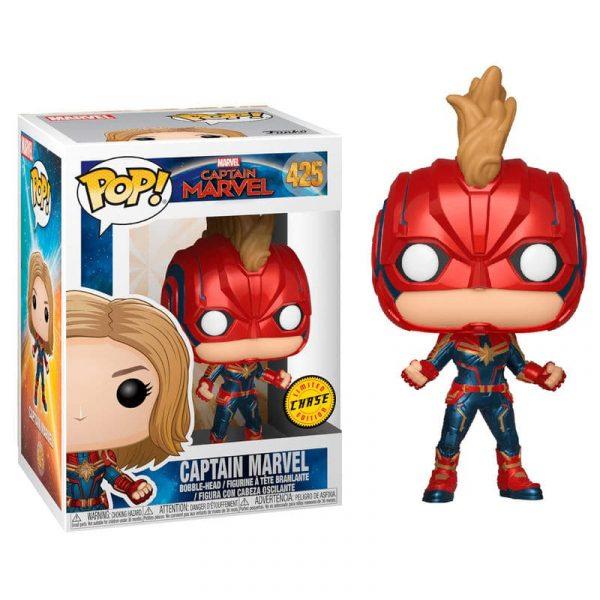 Figura POP Marvel Capitana Marvel Chase