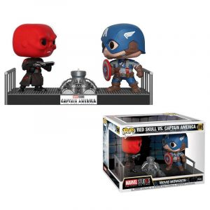 Funko Pop! Capitán América vs Red Skull (Marvel)