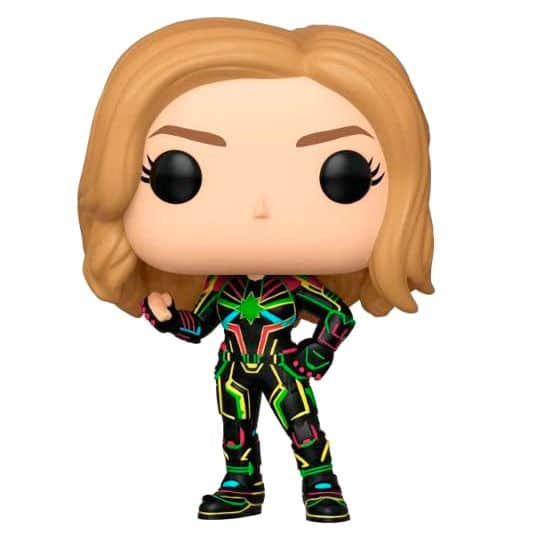 Figura POP Marvel Captain Marvel with Neon Suit
