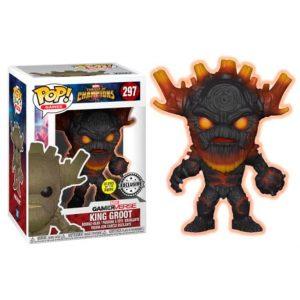 Funko Pop! King Groot [Contest of Champions] Exclusivo