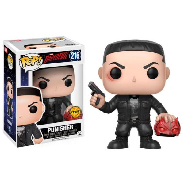 Figura POP Marvel Daredevil Punisher Chase
