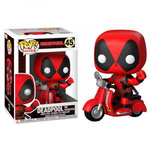 Funko Pop! Deadpool (En Scooter)