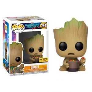 Funko Pop! Groot (Con caramelos) [Guardianes de la Galaxia] Exclusivo