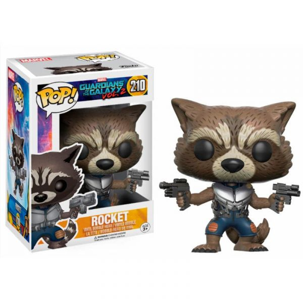 Figura POP! Marvel Guardians of the Galaxy 2 Rocket Exclusive
