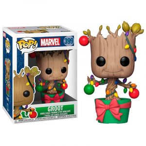 Funko Pop! Groot (Con luces) (Marvel Holiday)