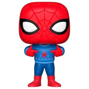 Funko Pop! Marvel Holiday Spider-Man with Ugly Sweater