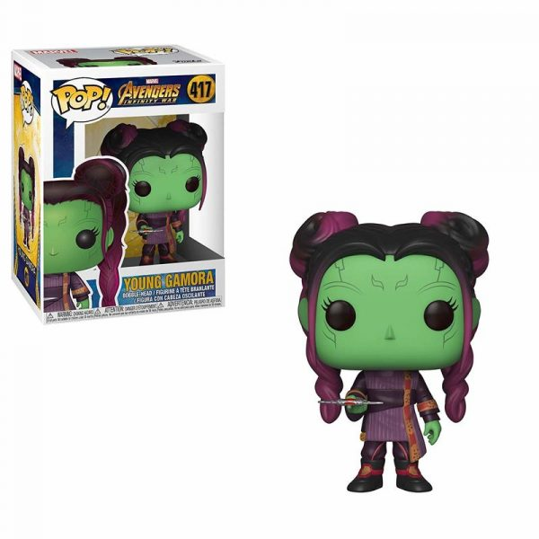 Figura POP Marvel Infinity War Young Gamora Dagger