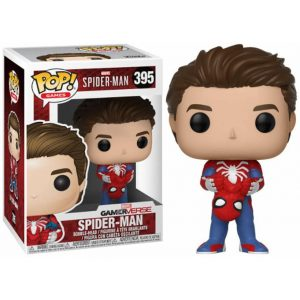 Funko Pop! Spider-Man (Desenmascarado) [Spider-Man]
