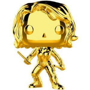 Funko Pop! Viuda Negra (Gold Chrome)