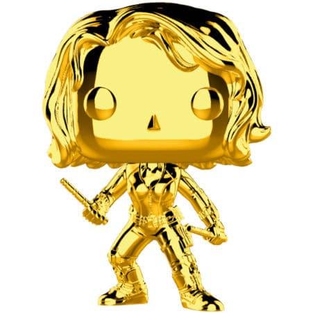 Figura POP Marvel Studios 10 Black Widow Gold Chrome